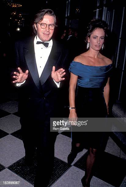 Musician Don Henley of The Eagles and Gale Ann Hurd attending 10th Annual People for the American Way Spirit of Liberty Awards on November 18 1990 at...
