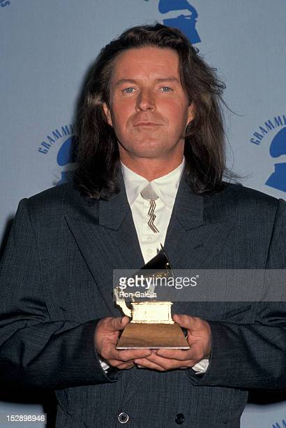 Musician Don Henley of The Eagles attending 32nd Annual Grammy Awards on February 21 1990 at the Shrine Auditorium in Los Angeles California