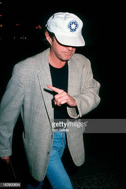 Musician Don Henley of The Eagles attending 'American Way Liberty Awards' on October 29 1990 at the Beverly Hilton Hotel in Beverly Hills California