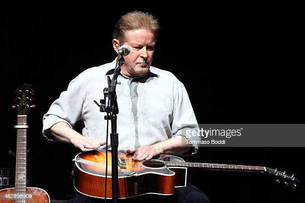 Musician Don Henley of The Eagles performs at the grand opening of the newly renovated Forum on January 15 2014 in Inglewood California