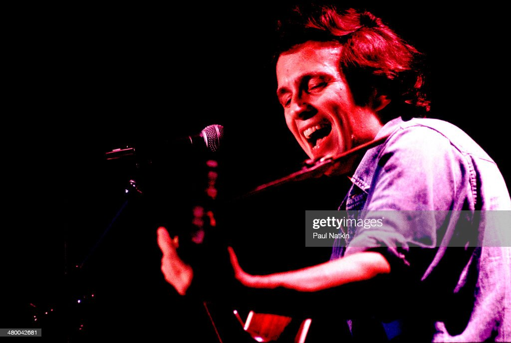 Musician Don McLean performs onstage, Chicago, Illinois, November 4, 1977.