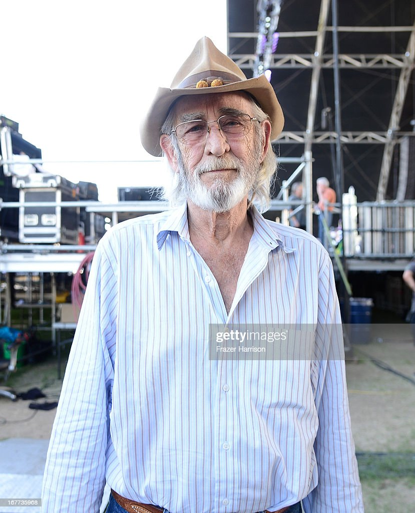 Musician Don Williams poses backstage during 2013 Stagecoach: California's Country Music Festival held at The Empire Polo Club on April 28, 2013 in Indio, California.
