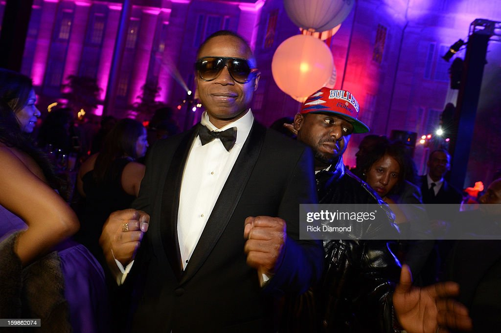 Musician <a gi-track='captionPersonalityLinkClicked' href=/galleries/search?phrase=Doug+E.+Fresh&family=editorial&specificpeople=207004 ng-click='$event.stopPropagation()'>Doug E. Fresh</a> attends the Inaugural Ball hosted by BET Networks at Smithsonian American Art Museum & National Portrait Gallery on January 21, 2013 in Washington, DC.