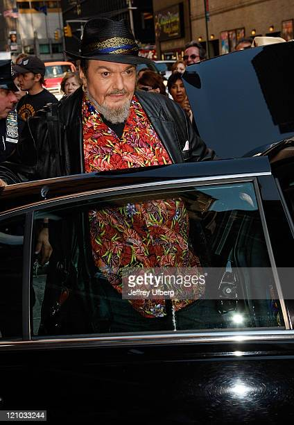 Musician Dr John visits 'Late Show with David Letterman' at the Ed Sullivan Theater on June 17 2008 in New York City