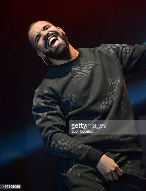 Musician Drake performs onstage during REAL 923's 'The Real Show' at The Forum on November 8 2015 in Inglewood California