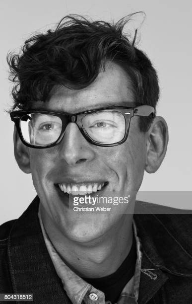 Musician drummer Patrick Carney of the Black Keys photographed for Time Magazine NY on December 2 in New York City