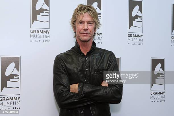 Musician Duff McKagan at A Conversation With Duff McKagan at The GRAMMY Museum on May 28 2015 in Los Angeles California