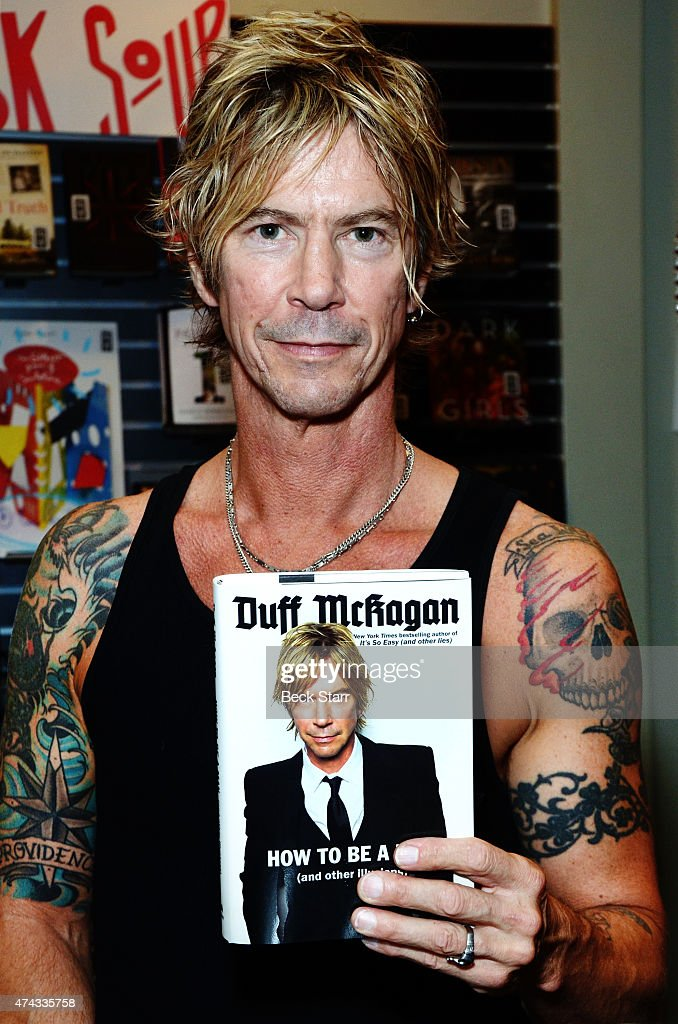 "Duff McKagan Book Signing For ""How To Be A Man: """