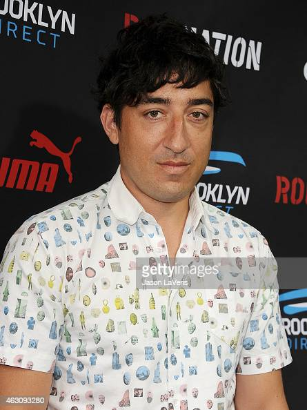 Musician Ed Droste attends the Roc Nation Grammy brunch on February 7 2015 in Beverly Hills California