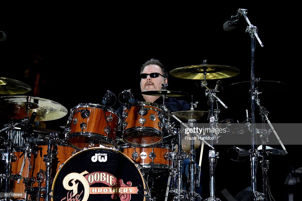 Musician Ed Toth performs onstage with The Doobie Brothers during 2016 Stagecoach California's Country Music Festival at Empire Polo Club on May 01, 2016 in Indio, California.