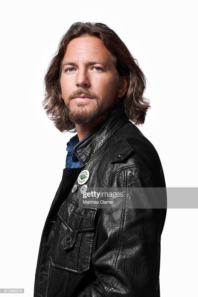 Musician Eddie Vedder is photographed for Q Magazine on July 25, 2011.