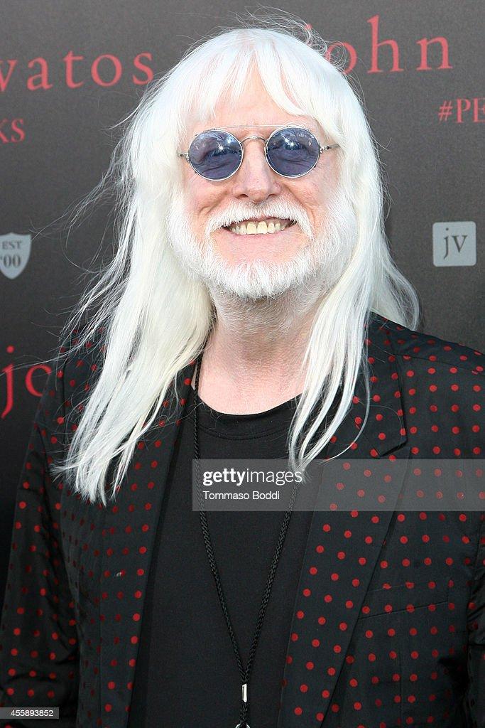 Musician Edgar Winter attends John Varvatos' International Day of Peace Celebration held at John Varvatos on September 21, 2014 in Los Angeles, California.