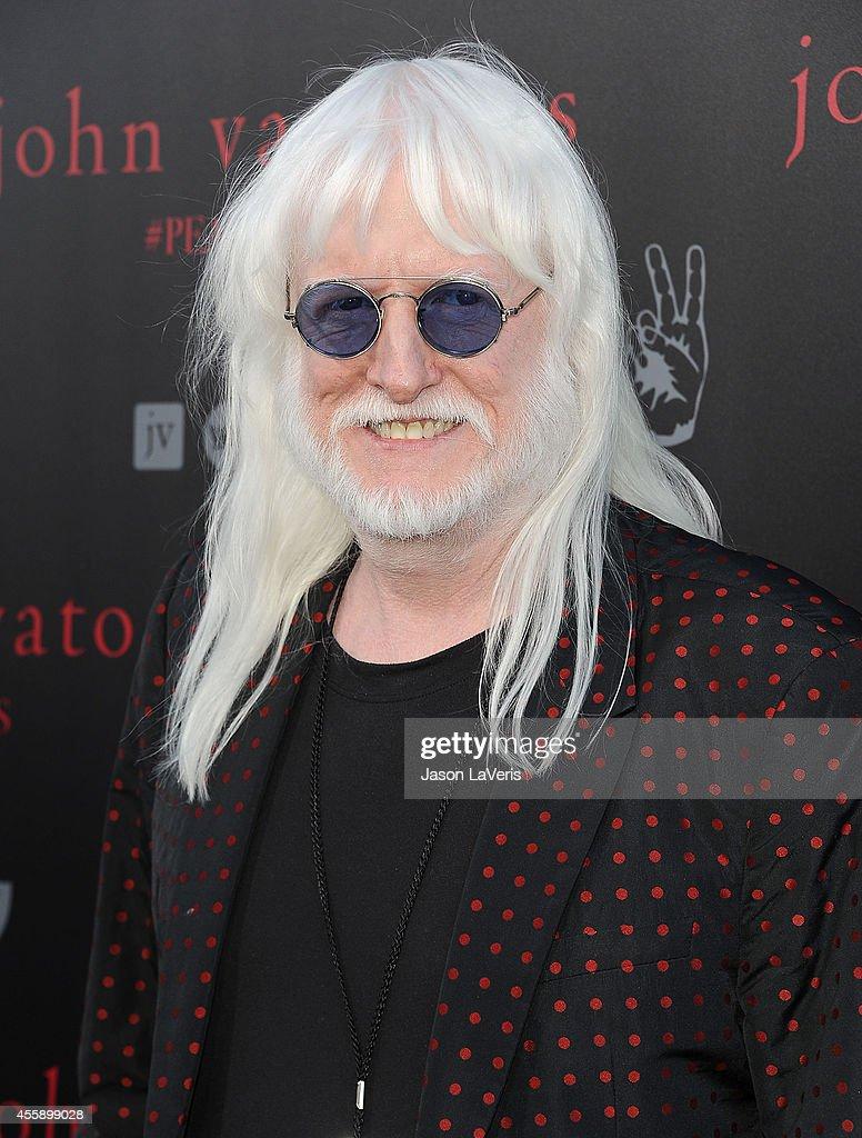 Musician Edgar Winter attends the International Peace Day celebration at John Varvatos on September 21, 2014 in Los Angeles, California.