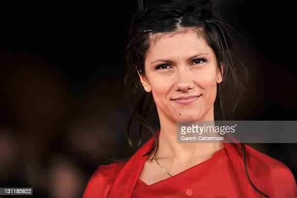Musician Elisa Toffoli attends the 'Un Giorno Questo Dolore Ti Sara Utile' Premiere during the 6th International Rome Film Festival on November 2...