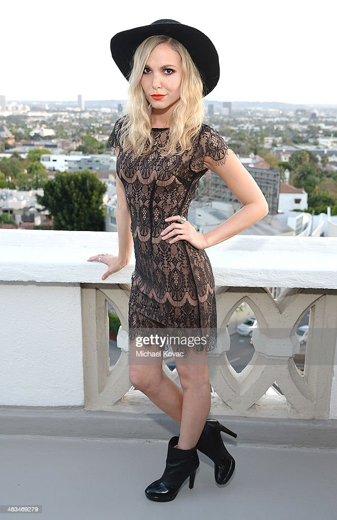 Musician Elizabeth Berg attends Kate Hudson celebrates the Little Black Dress Collection for Ann Taylor at Chateau Marmont on April 8, 2014 in Los Angeles, California.