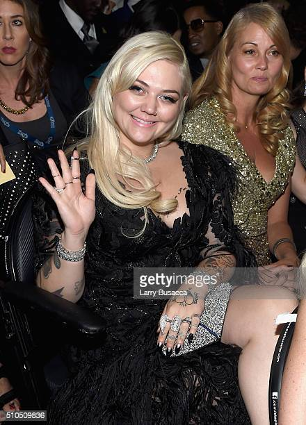 Musician Elle King attends The 58th GRAMMY Awards at Staples Center on February 15 2016 in Los Angeles California