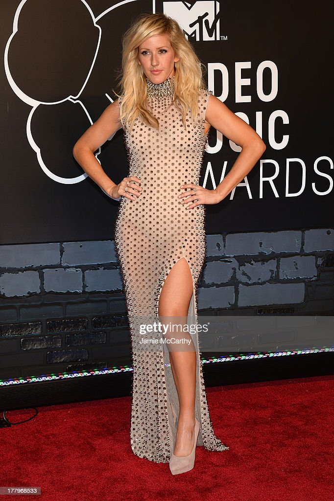 Musician Ellie Goulding attends the 2013 MTV Video Music Awards at the Barclays Center on August 25, 2013 in the Brooklyn borough of New York City.