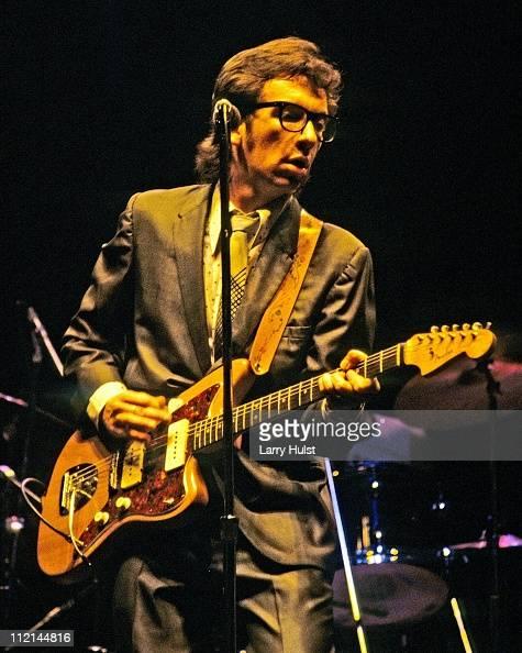 Musician Elvis Costello performs at Winterland Arena in San Francisco California on June 7 1978