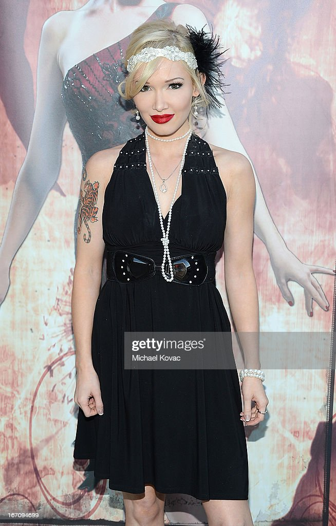 Musician Emii attends the Sue Wong Fall 2013 Great Gatsby Collection Unveiling and Birthday Celebration on April 19, 2013 in Los Angeles, California.