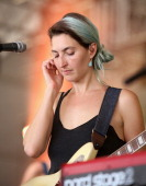 Musician Emily Kokal of Warpaint performs onstage at This Tent during day 4 of the 2014 Bonnaroo Arts And Music Festival on June 15 2014 in...