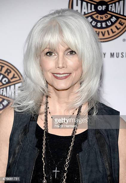 Musician Emmylou Harris attends Country Music Hall Of Fame Museum's 'All For The Hall' fundraising concert at Club Nokia on March 4 2014 in Los...