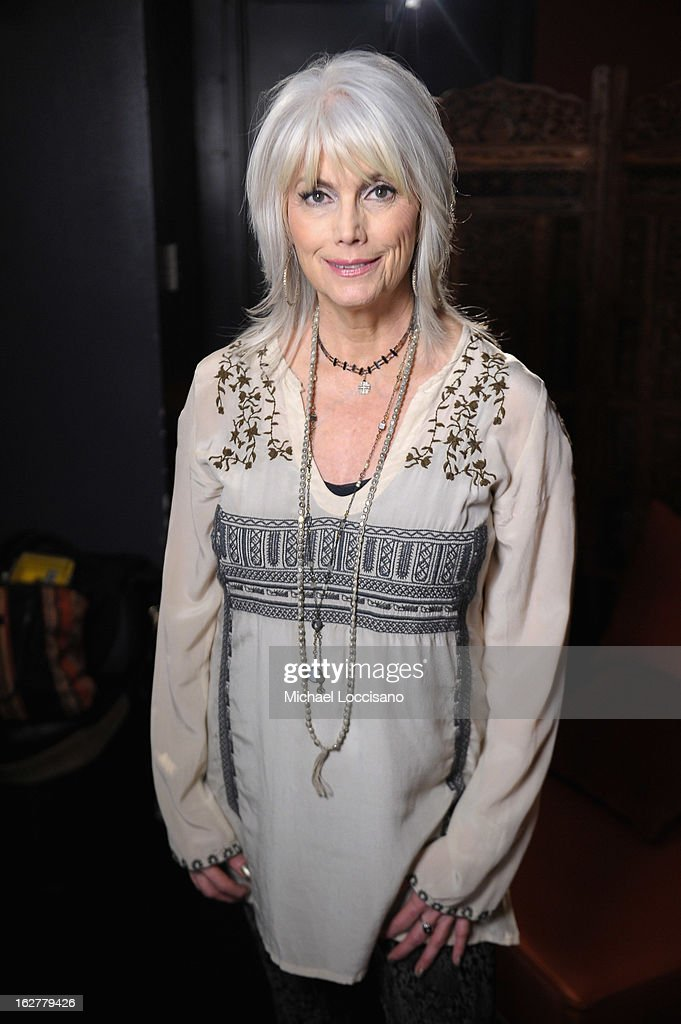 Musician Emmylou Harris attends the All For the Hall New York concert benefiting the Country Music Hall of Fame at Best Buy Theater on February 26, 2013 in New York City.