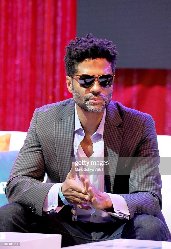Musician <a gi-track='captionPersonalityLinkClicked' href=/galleries/search?phrase=Eric+Benet&family=editorial&specificpeople=778854 ng-click='$event.stopPropagation()'>Eric Benet</a> attends Fan Fest BET and Centric Pavilion - Day 1 during the 2014 BET Experience at L.A. LIVE on June 28, 2014 in Los Angeles, California.