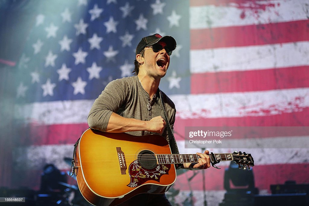 Eric Church Performs At The Nokia Theatre L.A. Live