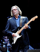 Musician Eric Clapton performs at The Prince's Trust Rock Gala 2010 supported by Novae at the Royal Albert Hall on November 17 2010 in London England
