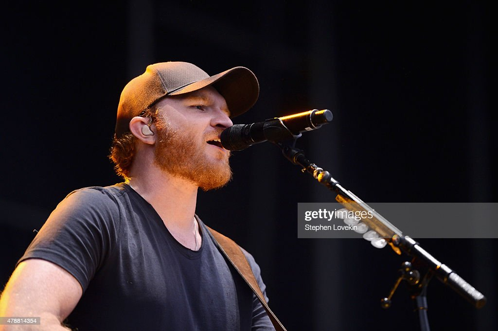 Musician Eric Paslay performs onstage during day 2 of the Big Barrel Country Music Festival on June 27 2015 in Dover Delaware