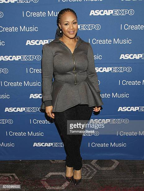 Musician Erica Campbell attends the 2016 ASCAP 'I Create Music' EXPO on April 28 2016 in Los Angeles California