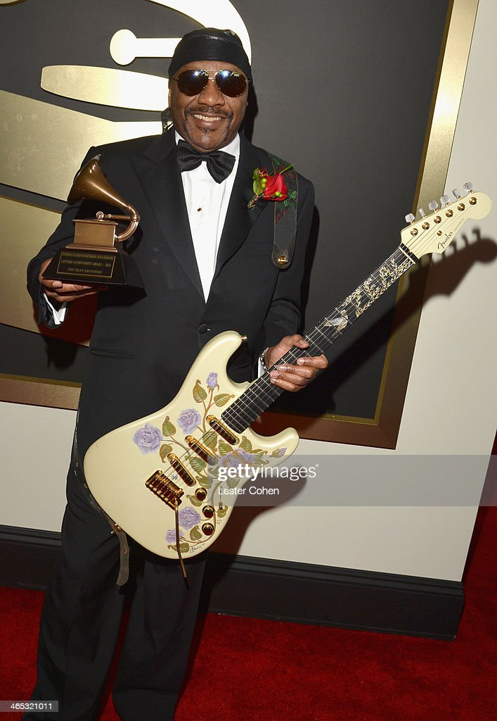 Musician Ernie Isley of the Isley Brothers attends the 56th GRAMMY Awards at Staples Center on January 26, 2014 in Los Angeles, California.