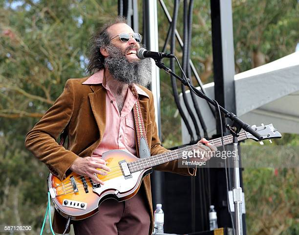 Musician Ethan Miller of Heron Oblivion performs on the Panhandle Stage during the 2016 Outside Lands Music And Arts Festival at Golden Gate Park on...