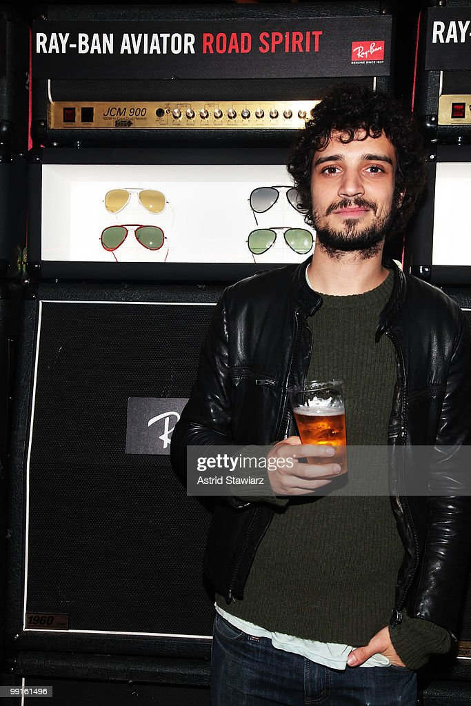 Musician Fabrizio Moretti attends the Ray-Ban Aviator: The Essentials Event featuring Iggy Pop at Music Hall of Williamsburg on May 12, 2010 in New York City.
