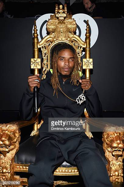Musician Fetty Wap attends Z100's Jingle Ball 2015 at Madison Square Garden on December 11 2015 in New York City