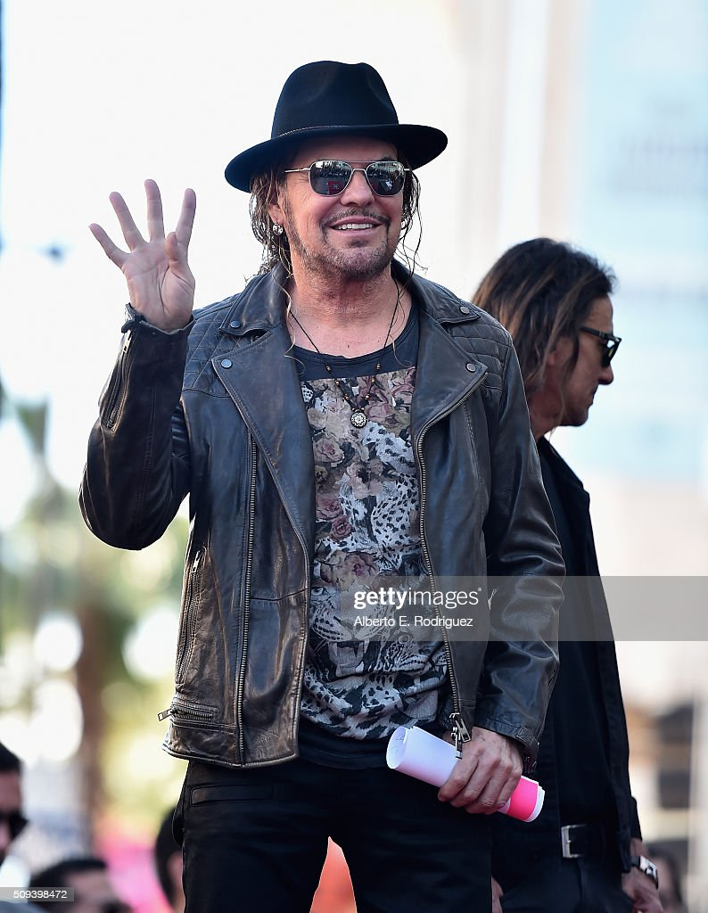 Musician Fher Olvera attends a ceremony honoring Maná with the 2,573rd Star on the Hollywood Walk of Fame on February 10, 2016 in Hollywood, California.