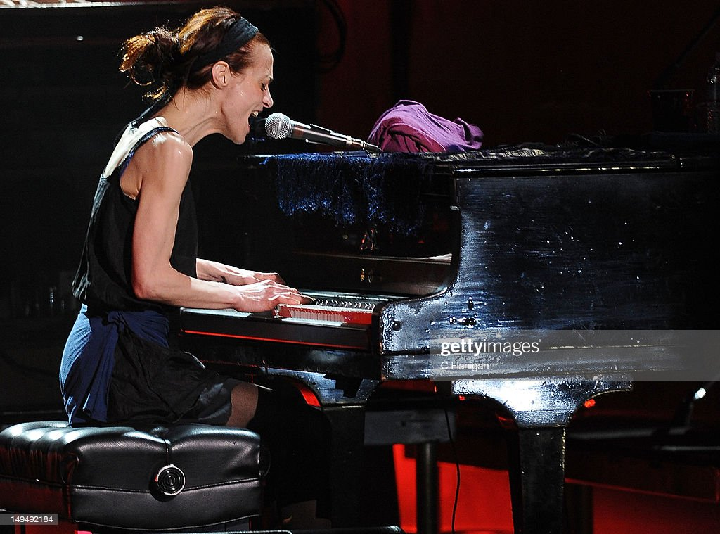 Musician Fiona Apple performs at The Fox Theatre on July 28 2012 in Oakland California