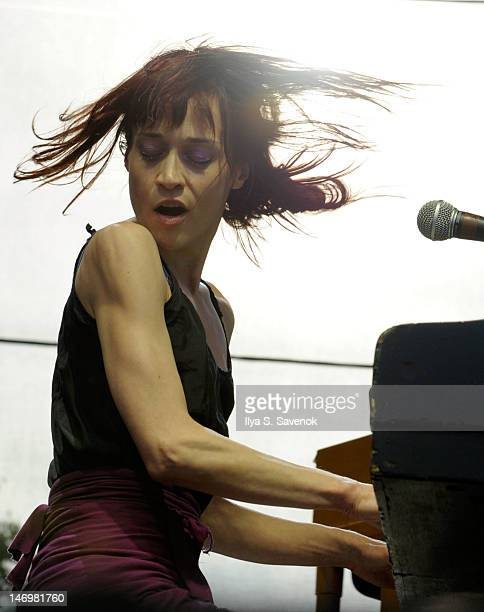 Musician Fiona Apple performs during the 2012 Governors Ball Music Festival at Randall's Island on June 24 2012 in New York City