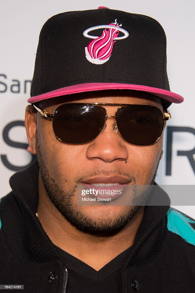 Musician Flo Rida attends The Samsung Spring 2013 Launch at the Museum Of American Finance on March 20, 2013 in New York City.