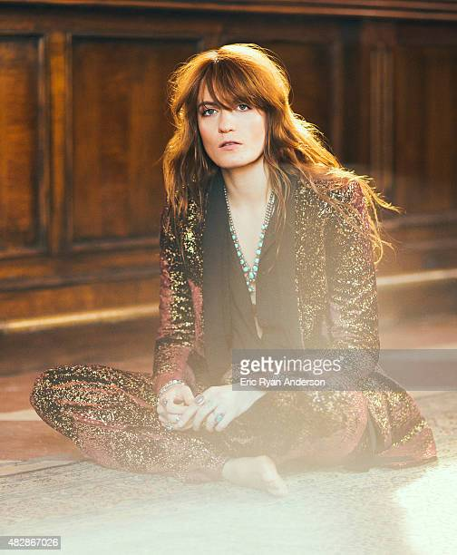 Musician Florence Welch is photographed for Billboard Magazine on May 6 2015 in New York City COVER IMAGE ON DOMESTIC EMBARGO UNTIL AUGUST 15 2015 ON...