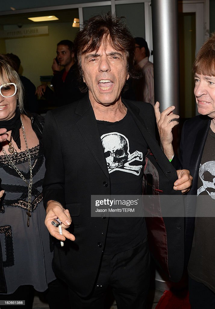 Musician Frank Infante attends a screening of Xlrator Media's 'CBGB' at ArcLight Cinemas on October 1, 2013 in Hollywood, California.