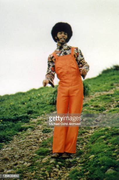 Musician Freddie Stone of the psychedelic soul group 'Sly And The Family Stone' poses for a portrait in circa 1969