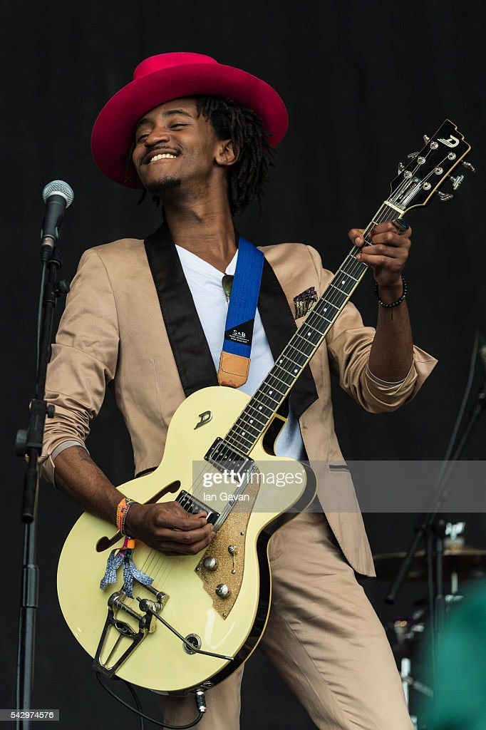 A musician from Baaba Maal band performs on the Pyramid Stage on day 2 of the Glastonbury Festival at Worthy Farm, Pilton on June 25, 2016 in Glastonbury, England. Now in its 46th year the festival is one largest music festivals in the world and this year features headline acts Muse, Adele and Coldplay. The Festival, which Michael Eavis started in 1970 when several hundred hippies paid just £1, now attracts more than 175,000 people.