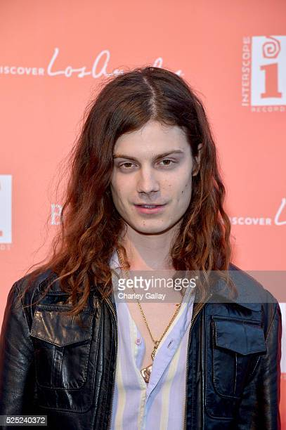 Musician Garrett Borns of BORNS attends Discover Los Angeles' 'Get Lost' PopUp Concert at The Geffen Contemporary at MOCA on April 27 2016 in West...