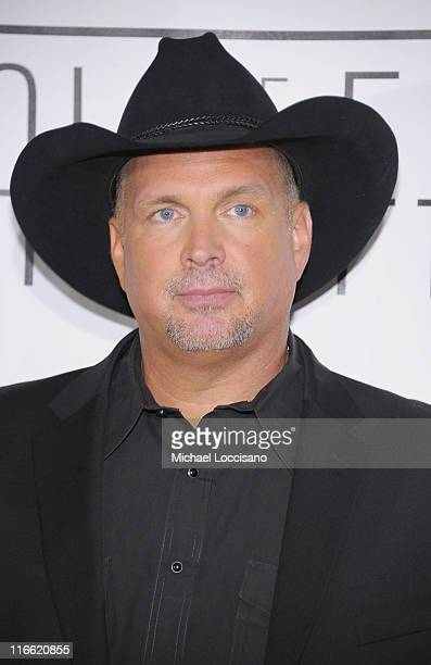 Musician Garth Brooks attends the 42nd annual Songwriters Hall of Fame Induction Ceremony at The New York Marriott Marquis on June 16 2011 in New...