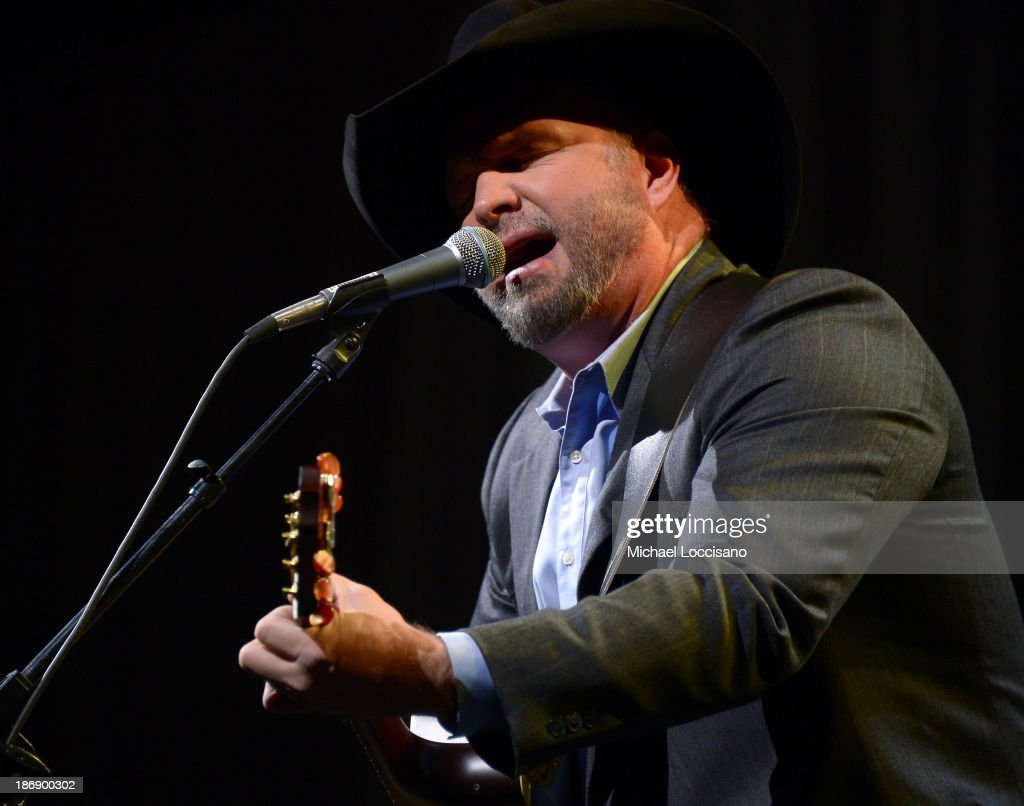 Musician <a gi-track='captionPersonalityLinkClicked' href=/galleries/search?phrase=Garth+Brooks&family=editorial&specificpeople=206288 ng-click='$event.stopPropagation()'>Garth Brooks</a> performs onstage during the 51st annual ASCAP Country Music Awards at Music City Center on November 4, 2013 in Nashville, Tennessee.