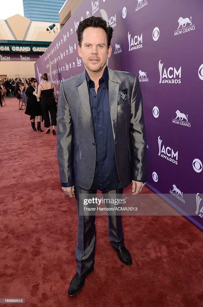 Musician Gary Allan attends the 48th Annual Academy of Country Music Awards at the MGM Grand Garden Arena on April 7, 2013 in Las Vegas, Nevada.
