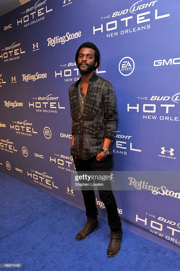Musician <a gi-track='captionPersonalityLinkClicked' href=/galleries/search?phrase=Gary+Clark+Jr.&family=editorial&specificpeople=4495733 ng-click='$event.stopPropagation()'>Gary Clark Jr.</a> attends Bud Light Presents Stevie Wonder and <a gi-track='captionPersonalityLinkClicked' href=/galleries/search?phrase=Gary+Clark+Jr.&family=editorial&specificpeople=4495733 ng-click='$event.stopPropagation()'>Gary Clark Jr.</a> at the Bud Light Hotel on February 2, 2013 in New Orleans, Louisiana.