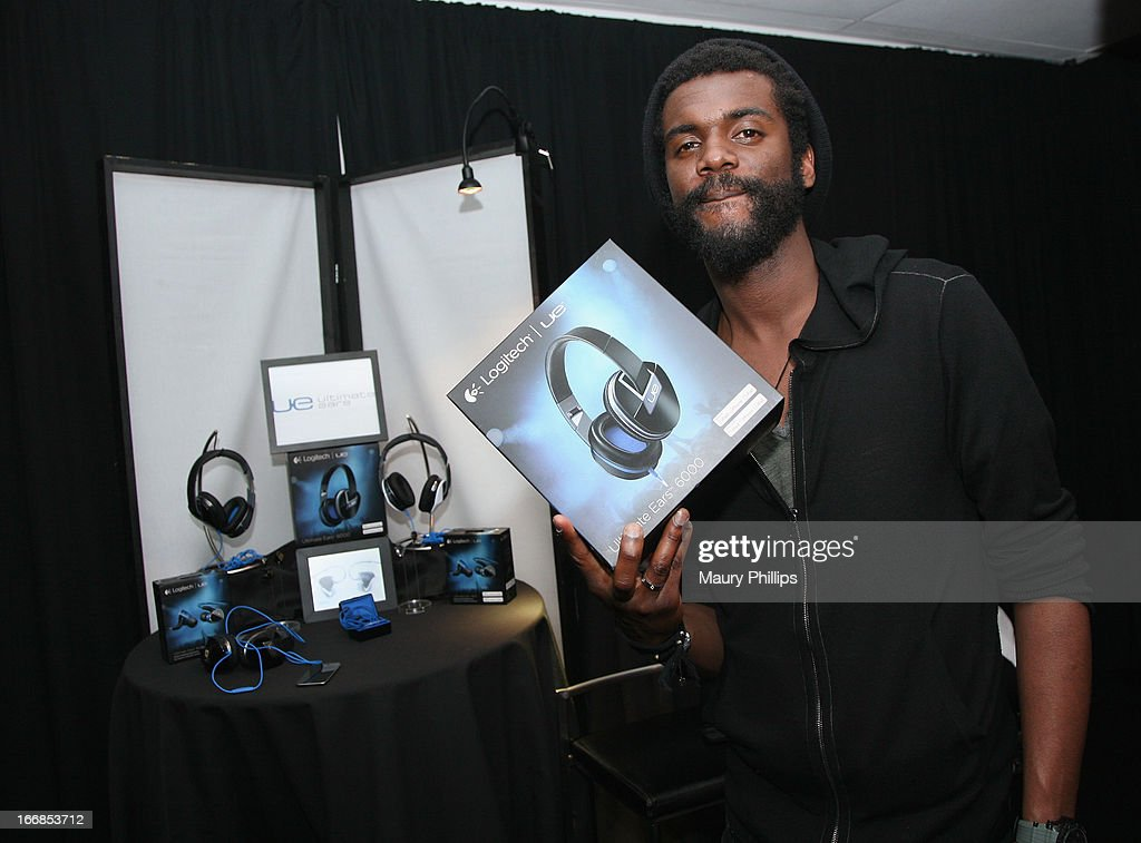 Musician Gary Clark Jr attends the Gift Lounge at the 28th Rock and Roll Hall of Fame Induction Ceremony presented by I Can't Believe It's Not Butter! 'Breakfast After Dark' produced by On 3 Productions at Nokia Theatre L.A. Live on April 17, 2013 in Los Angeles, California.