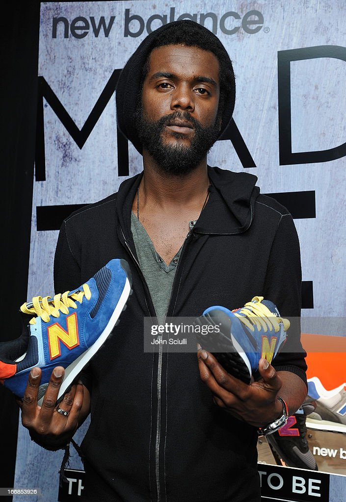 Musician Gary Clark Jr. attends the Gift Lounge at the 28th Rock and Roll Hall of Fame Induction Ceremony presented by I Can't Believe It's Not Butter! 'Breakfast After Dark' produced by On 3 Productions at Nokia Theatre L.A. Live on April 17, 2013 in Los Angeles, California.